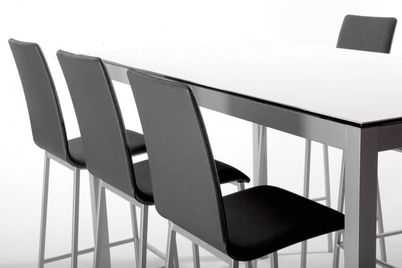 Conjunto mesa y sillas de cocina fija modelo Leo